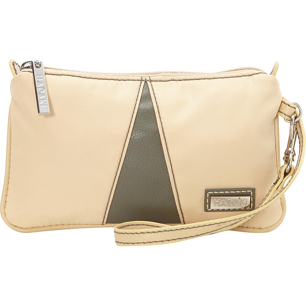 Hadaki Wristlet Semolina - Hadaki Fabric Handbags - Handbags, Fabric Handbags