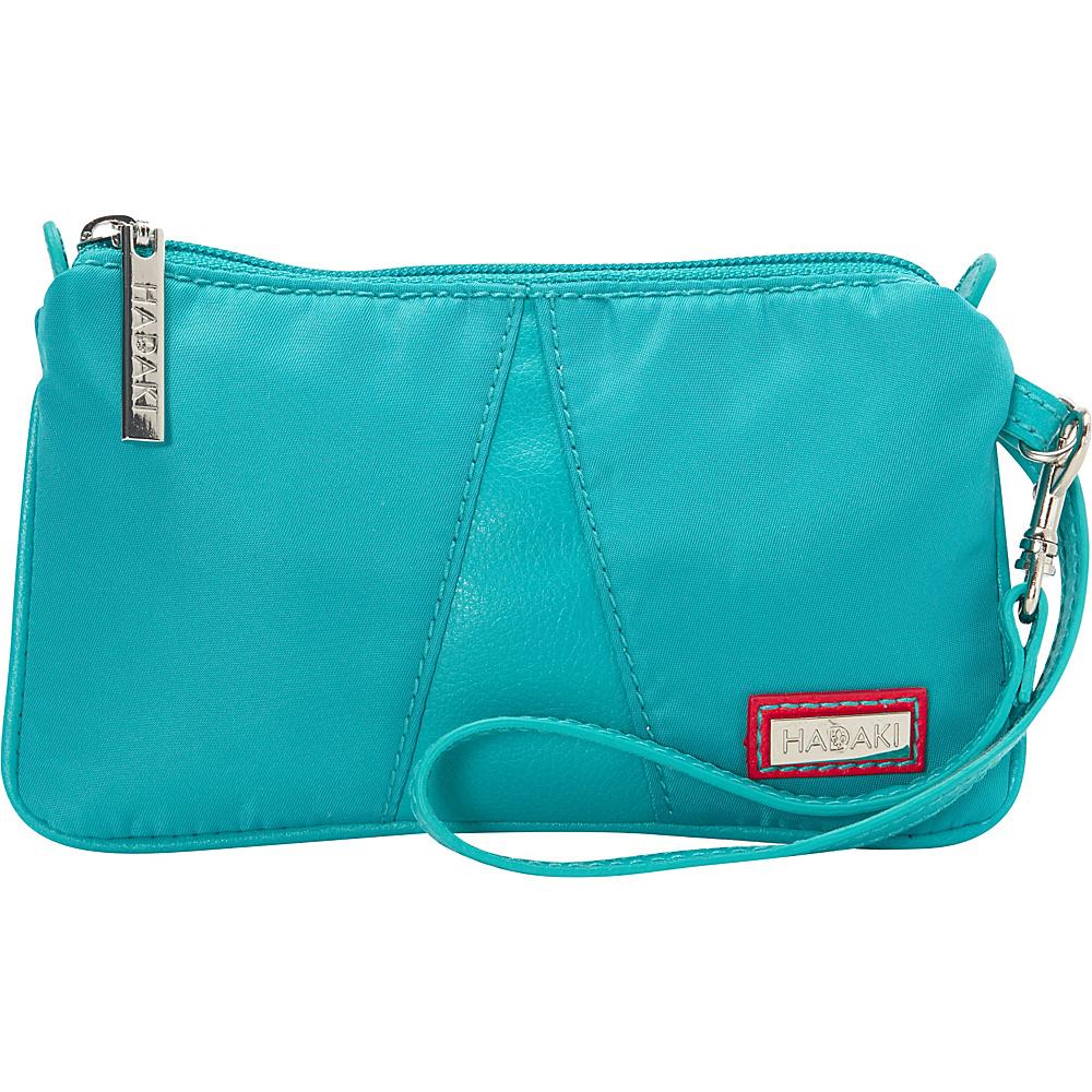 Hadaki Wristlet Viridian Green - Hadaki Fabric Handbags - Handbags, Fabric Handbags