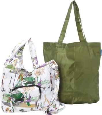 Sacs Collection by Annette Ferber City Slinger- 2 bag set City Charm / Olive - Sacs Collection by Annette Ferber Fabric Handbags