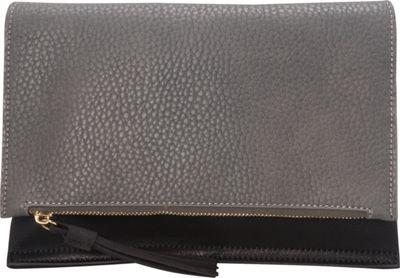 Urban Originals Sheer Luxe Clutch Black/Graphite - Urban Originals Manmade Handbags