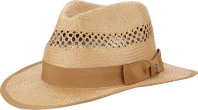 Original Penguin Lazaro Fedora S/M - Natural - L/XL - Original Penguin Hats/Gloves/Scarves