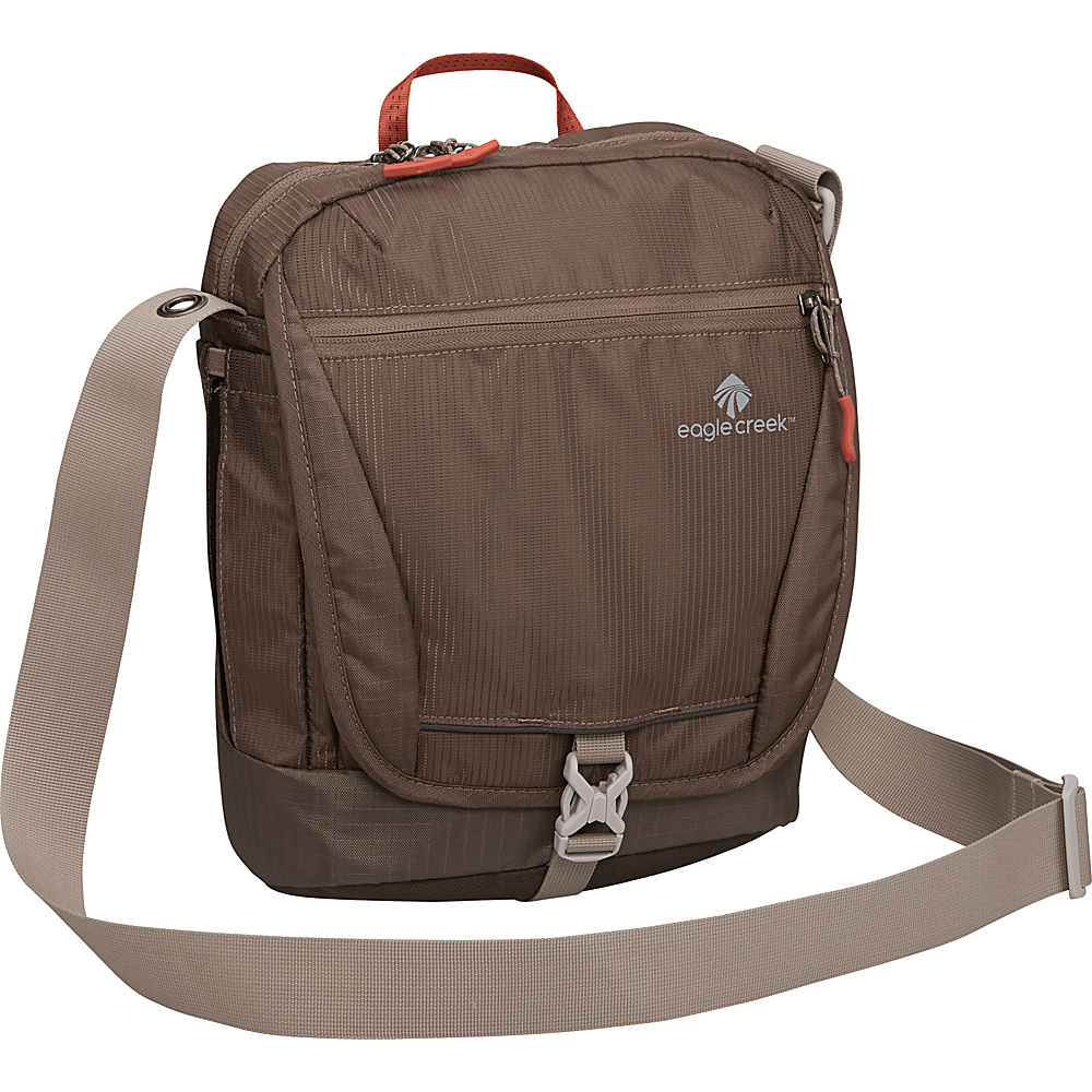 Eagle Creek Guide Pro Courier RFID Brown - Eagle Creek Other Men's Bags