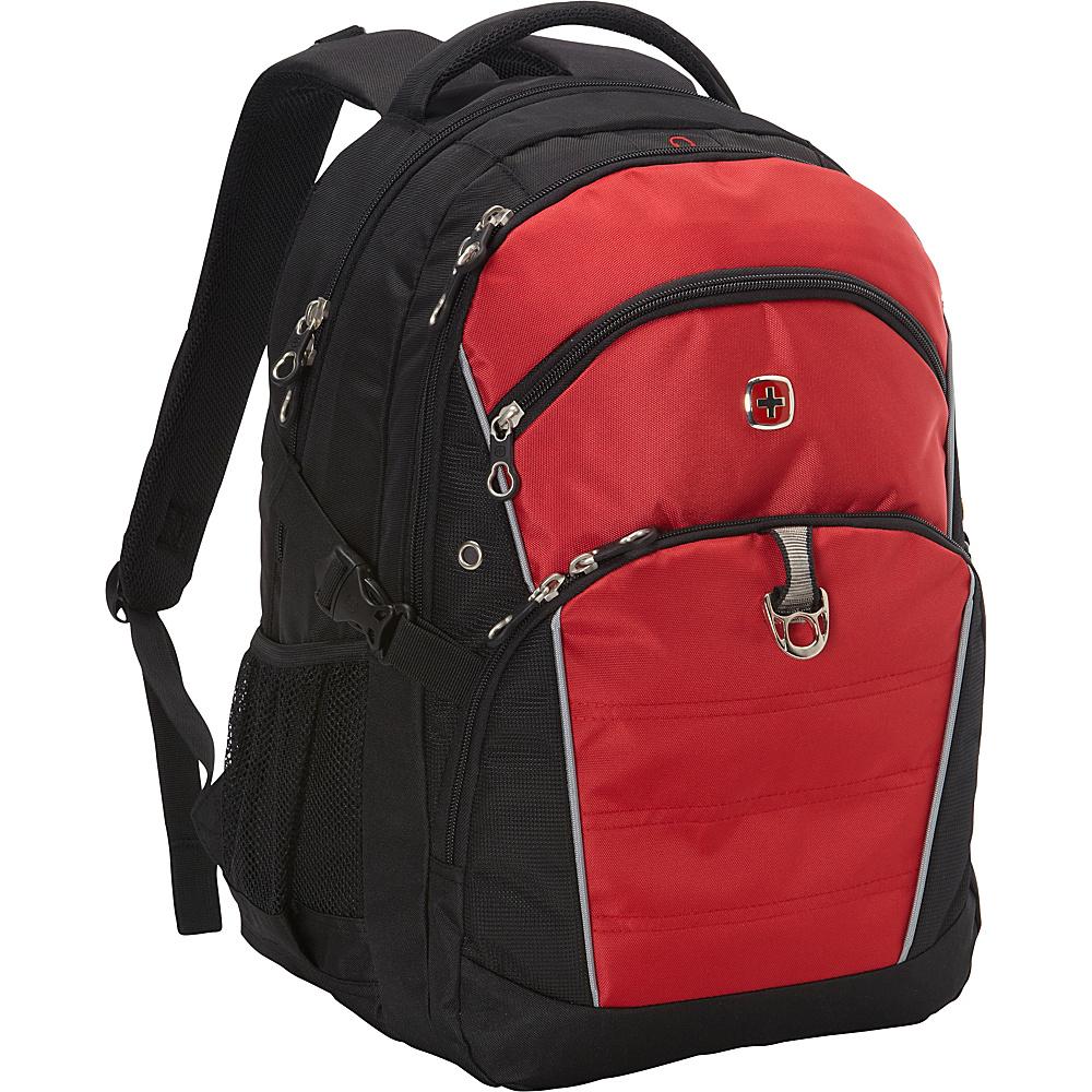SwissGear Travel Gear 18.5 Laptop Backpack 3272 Black w Red SwissGear Travel Gear Business Laptop Backpacks