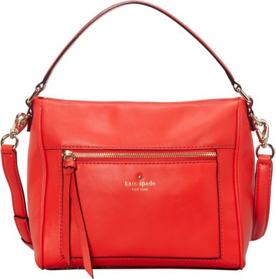 kate spade new york Briar Lane Small Harris Satchel Cherry Liquer - kate spade new york Designer Handbags
