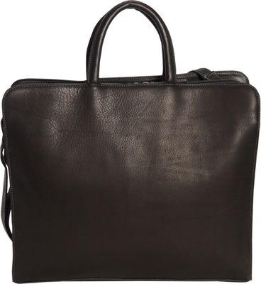 Derek Alexander Two Top Zip Fully Organized Tote Black - Derek Alexander Leather Handbags