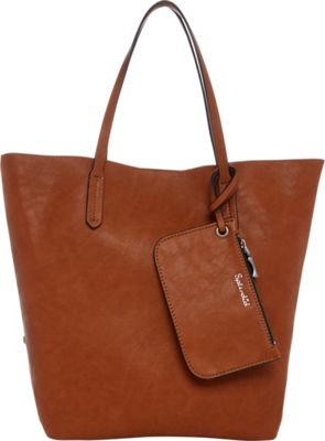 Splendid Key West Tote Cognac - Splendid Designer Handbags
