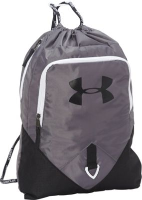 Under Armour Undeniable Sackpack Graphite/Black/White - Under Armour Everyday Backpacks