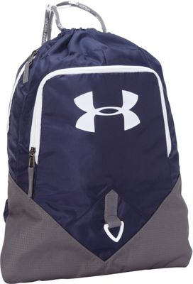 Under Armour Undeniable Sackpack Midnight Navy/Graphite/White - Under Armour Everyday Backpacks
