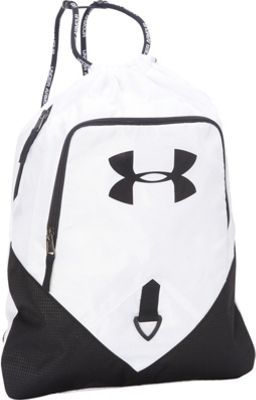 Under Armour Undeniable Sackpack White/Black/Black - Under Armour Everyday Backpacks