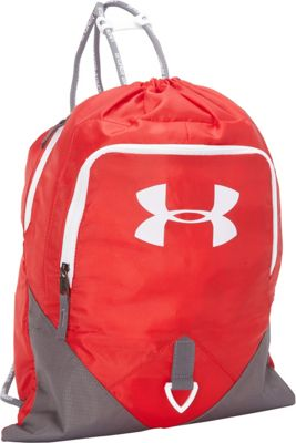 Under Armour Undeniable Sackpack Red/Graphite/White - Under Armour Everyday Backpacks