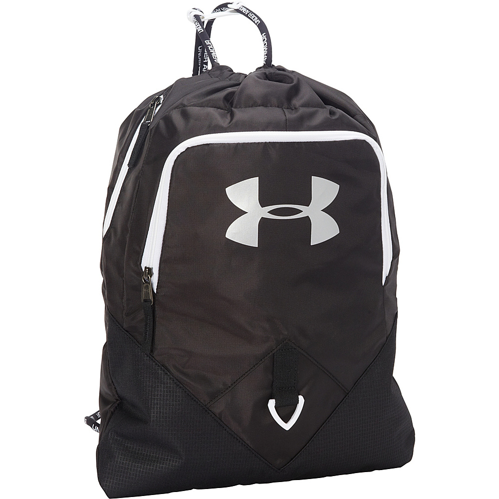 Under Armour Undeniable Sackpack Black/White/Silver - Under Armour Everyday Backpacks