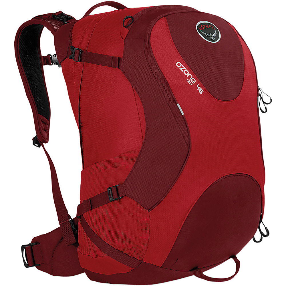 Osprey Ozone Travel Pack 46 Hoodoo Red- DISCONTINUED - Osprey Business & Laptop Backpacks - Backpacks, Business & Laptop Backpacks