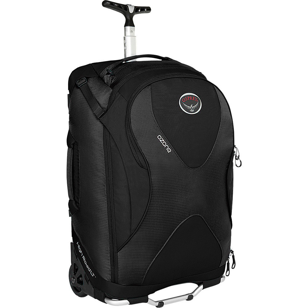 Osprey Ozone 22 inch/46L Black- DISCONTINUED - Osprey Softside Carry-On - Luggage, Softside Carry-On