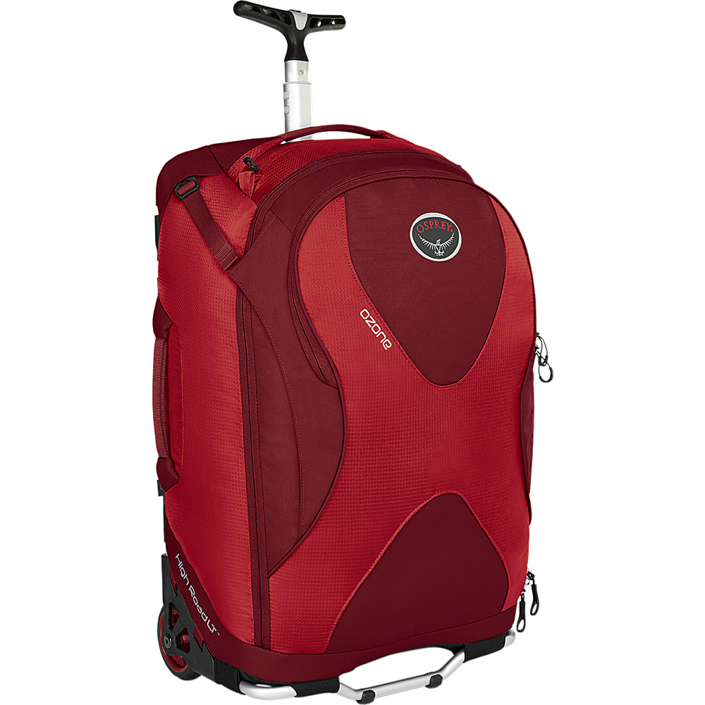 Osprey Ozone 22 inch/46L Hoodoo Red- DISCONTINUED - Osprey Softside Carry-On - Luggage, Softside Carry-On