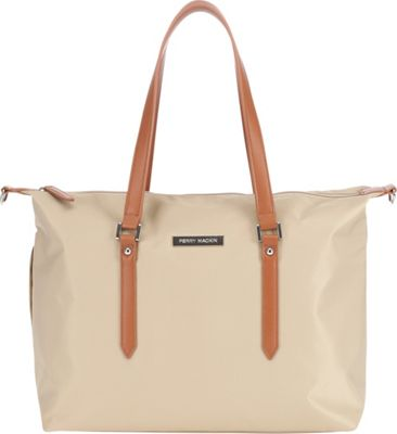 Perry Mackin Ashley Diaper Bag Beige - Perry Mackin Diaper Bags & Accessories