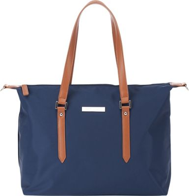 Perry Mackin Ashley Diaper Bag Navy - Perry Mackin Diaper Bags & Accessories