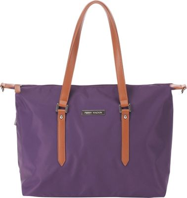 Perry Mackin Ashley Diaper Bag Lilac - Perry Mackin Diaper Bags & Accessories