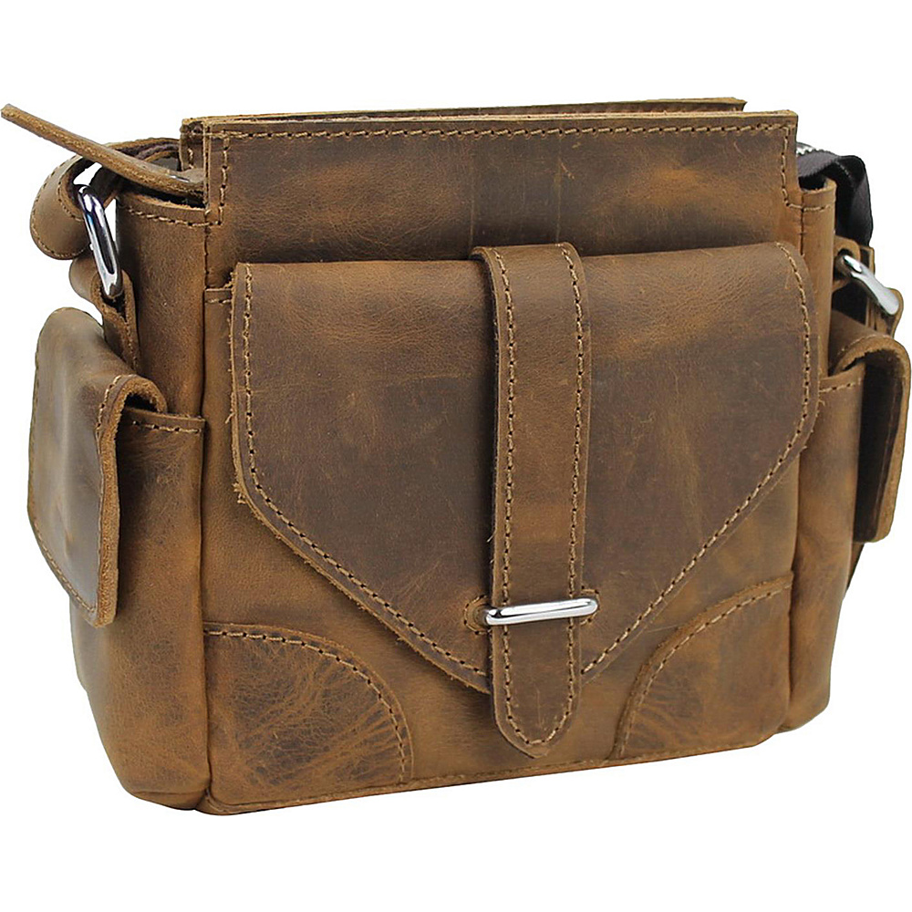 Vagabond Traveler 8.5 Leather Satchel Bag Vintage Brown - Vagabond Traveler Leather Handbags - Handbags, Leather Handbags