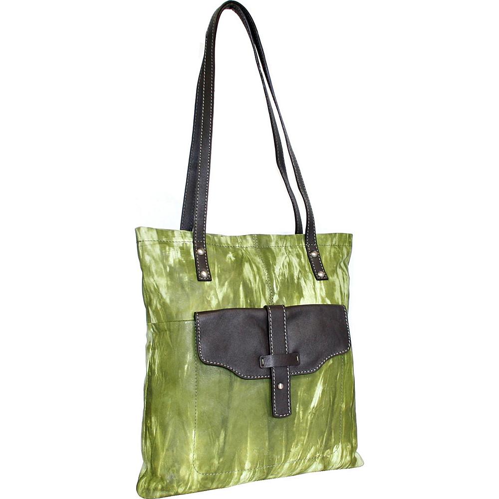 Nino Bossi Squeeze My Slim Tote Alpine Nino Bossi Leather Handbags