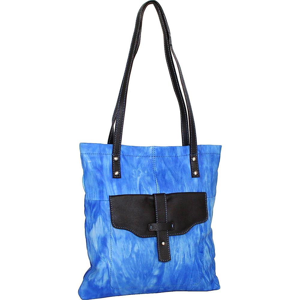Nino Bossi Squeeze My Slim Tote Denim - Nino Bossi Leather Handbags - Handbags, Leather Handbags