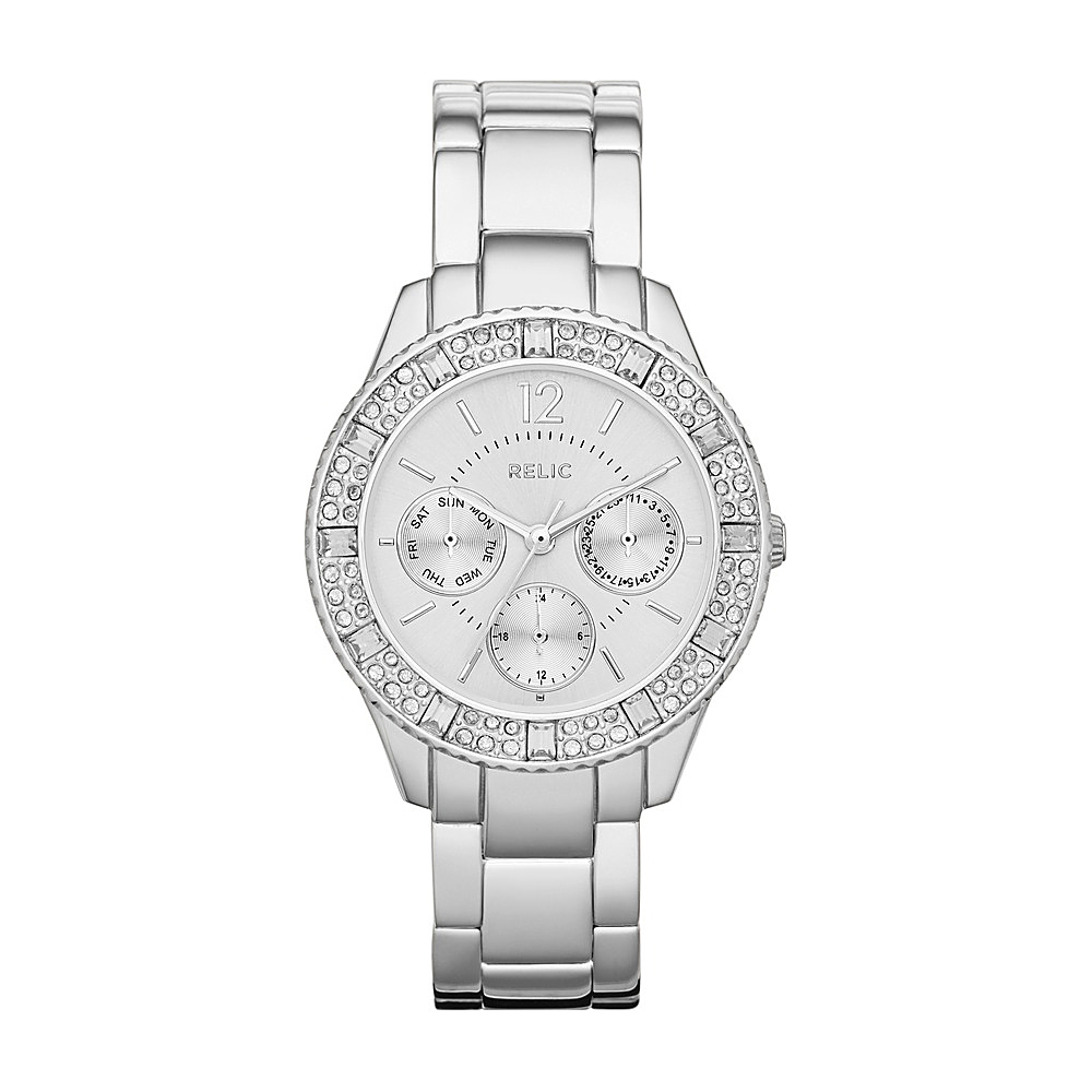 Relic Sophia Multifunction Watch Silver Relic Watches