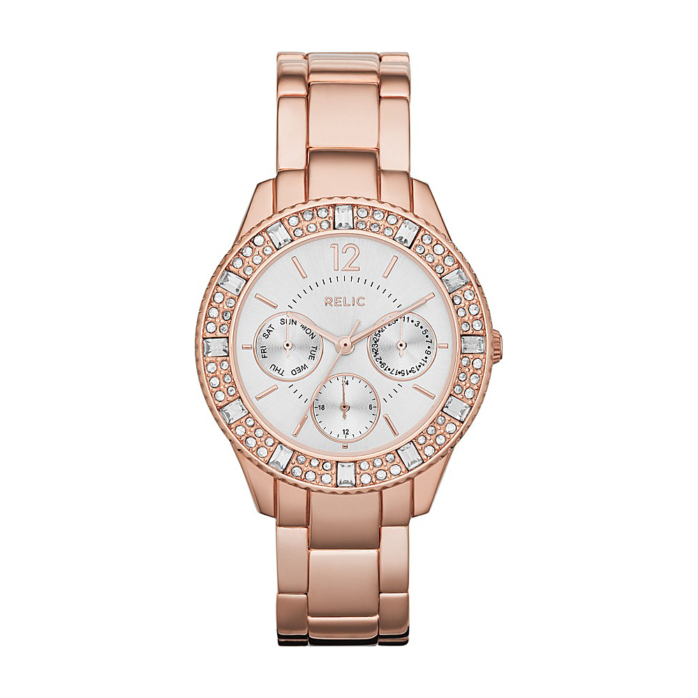 Relic Sophia Multifunction Watch Rose Gold Relic Watches