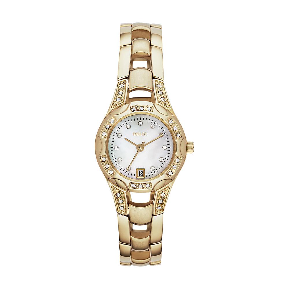 Relic Charlott Glitz Watch Gold Relic Watches