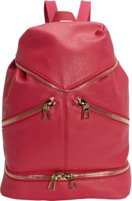 Hang Accessories Tech Organizing Convertible Backpack Fuchsia - Hang Accessories Manmade Handbags