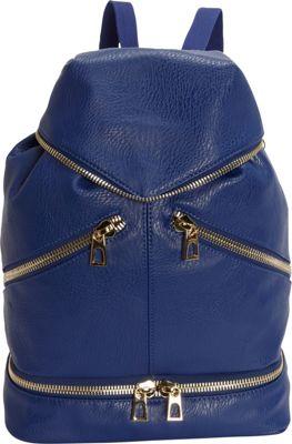 Hang Accessories Tech Organizing Convertible Backpack Blue - Hang Accessories Manmade Handbags