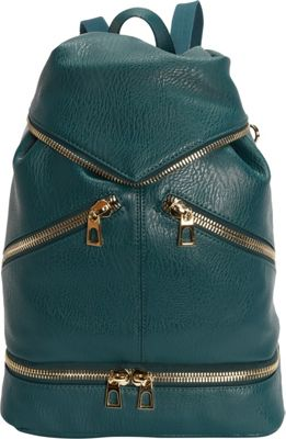 Hang Accessories Tech Organizing Convertible Backpack Green - Hang Accessories Manmade Handbags