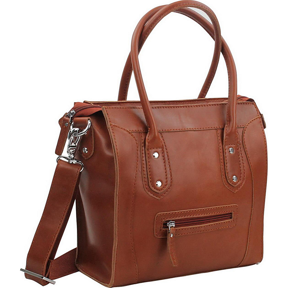 Vagabond Traveler 11.5 Leather Shoulder Bag Brown - Vagabond Traveler Leather Handbags - Handbags, Leather Handbags