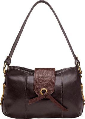 Hidesign Indus Small Shoulder Bag Brown - Hidesign Leather Handbags