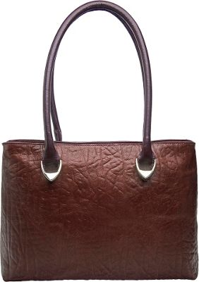 Hidesign Yangtze Medium Shoulder Bag Brown - Hidesign Leather Handbags