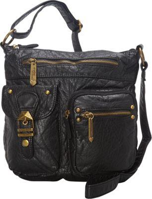 Ampere Creations The Kayla Crossbody Black - Ampere Creations Manmade Handbags