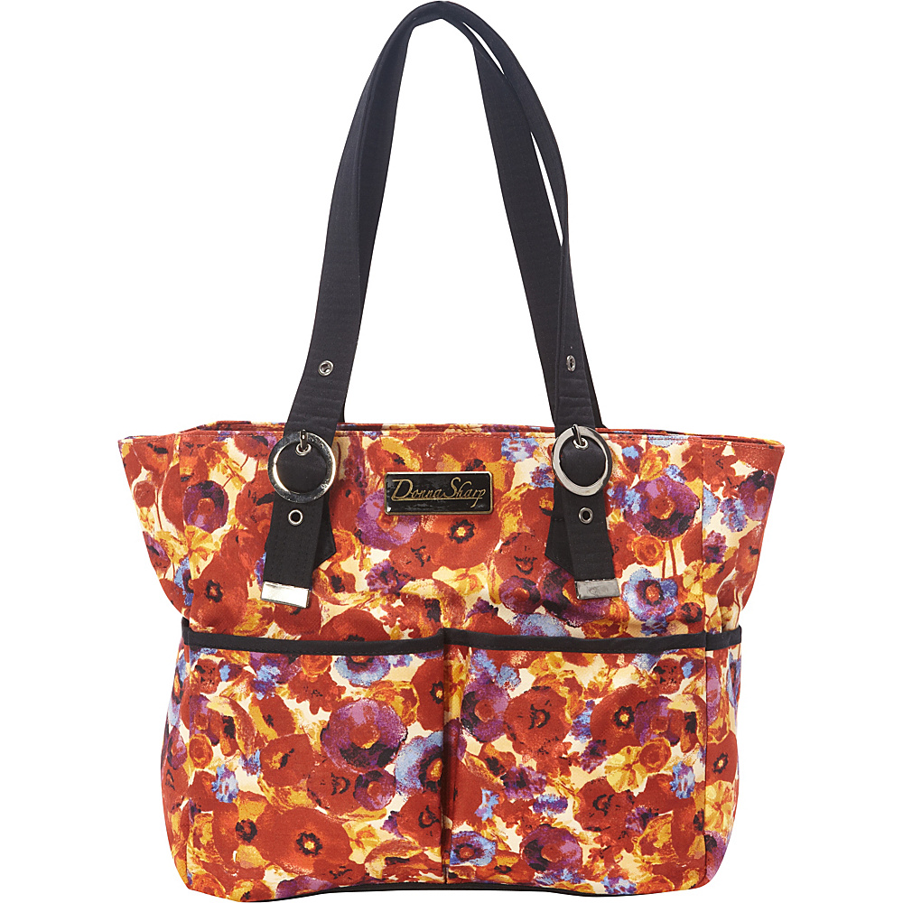 Donna Sharp Elaina Bag Poppy Field Donna Sharp Fabric Handbags