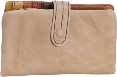 Journey Collection by Annette Ferber Wakefield Wallet Tan - Journey Collection by Annette Ferber Women's Wallets