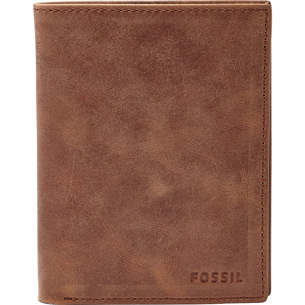 Fossil Hunter International Combination Brown - Fossil Mens Wallets - Work Bags & Briefcases, Men's Wallets
