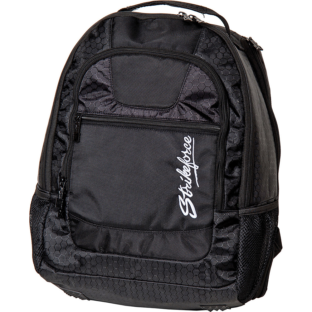 KR Strikeforce Bowling KR Backpack Plus Black KR Strikeforce Bowling Bowling Bags