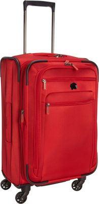 Delsey Helium Sky 2.0 Carry-on Exp. Spinner Trolley Red - Delsey Softside Carry-On