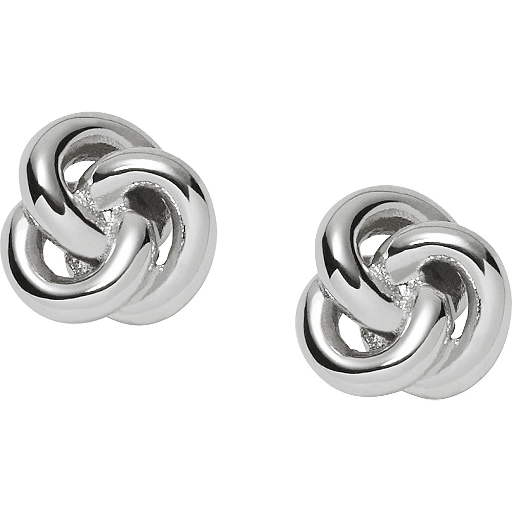Fossil Knot Studs Silver - Fossil Other Fashion Accessories - Fashion Accessories, Other Fashion Accessories