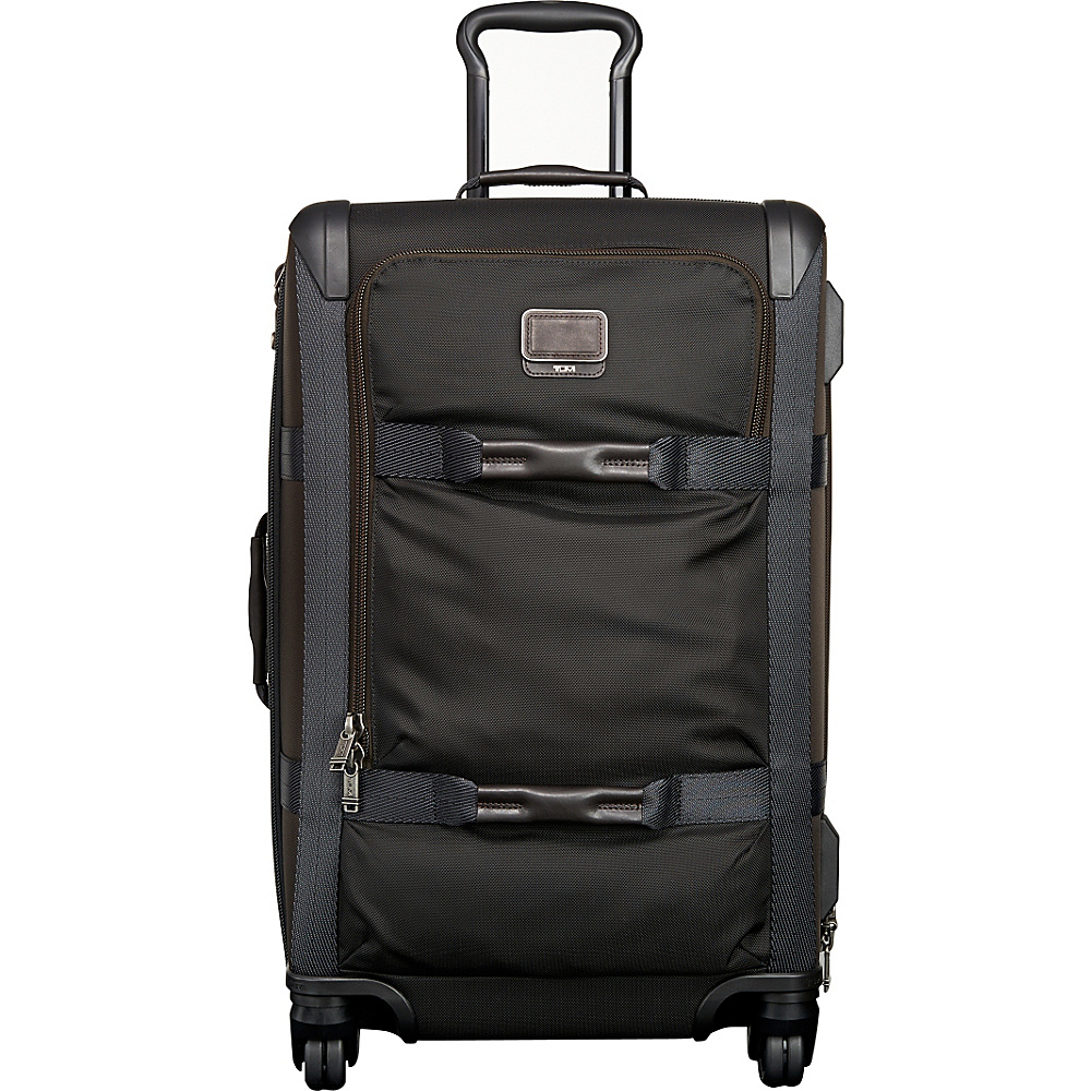 Tumi Alpha Bravo Henderson Short Trip Expandable Packing Case Hickory Tumi Softside Checked