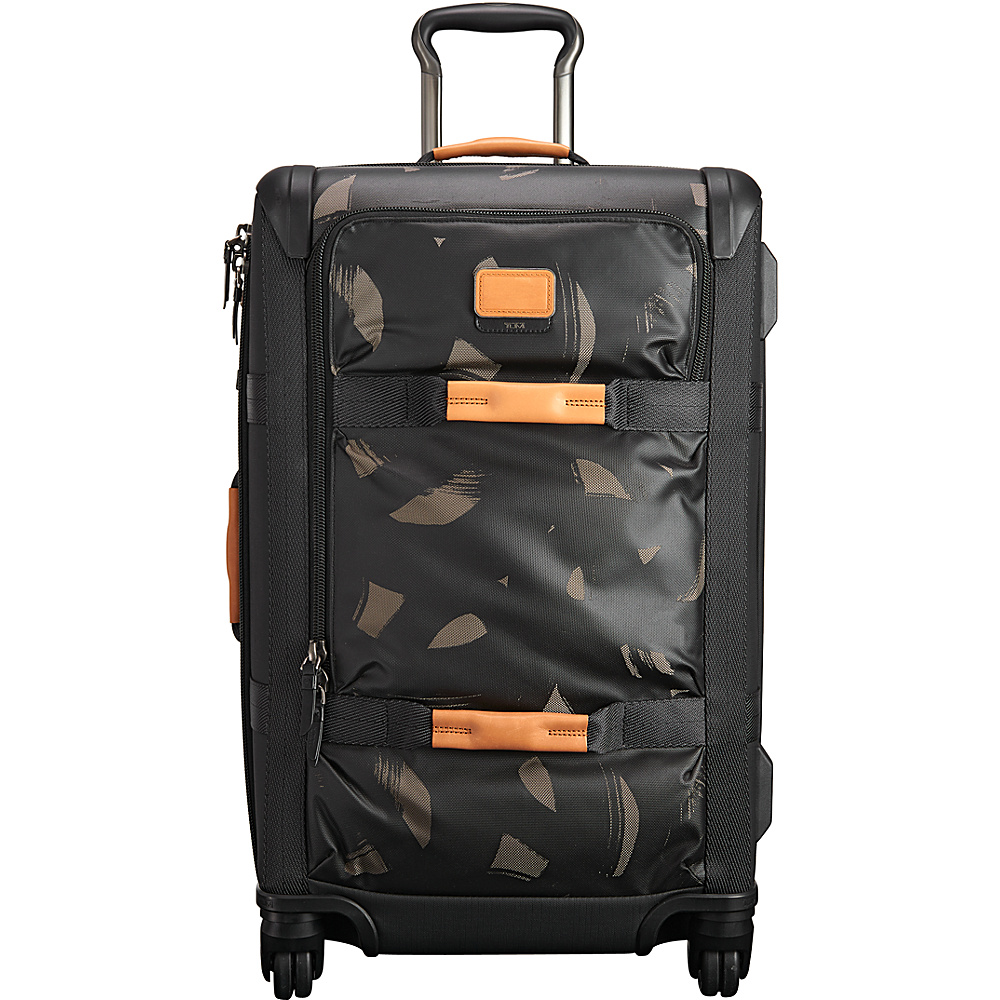 Tumi Alpha Bravo Henderson Short Trip Expandable Packing Case Smoke Character Print - Tumi Large Rolling Luggage