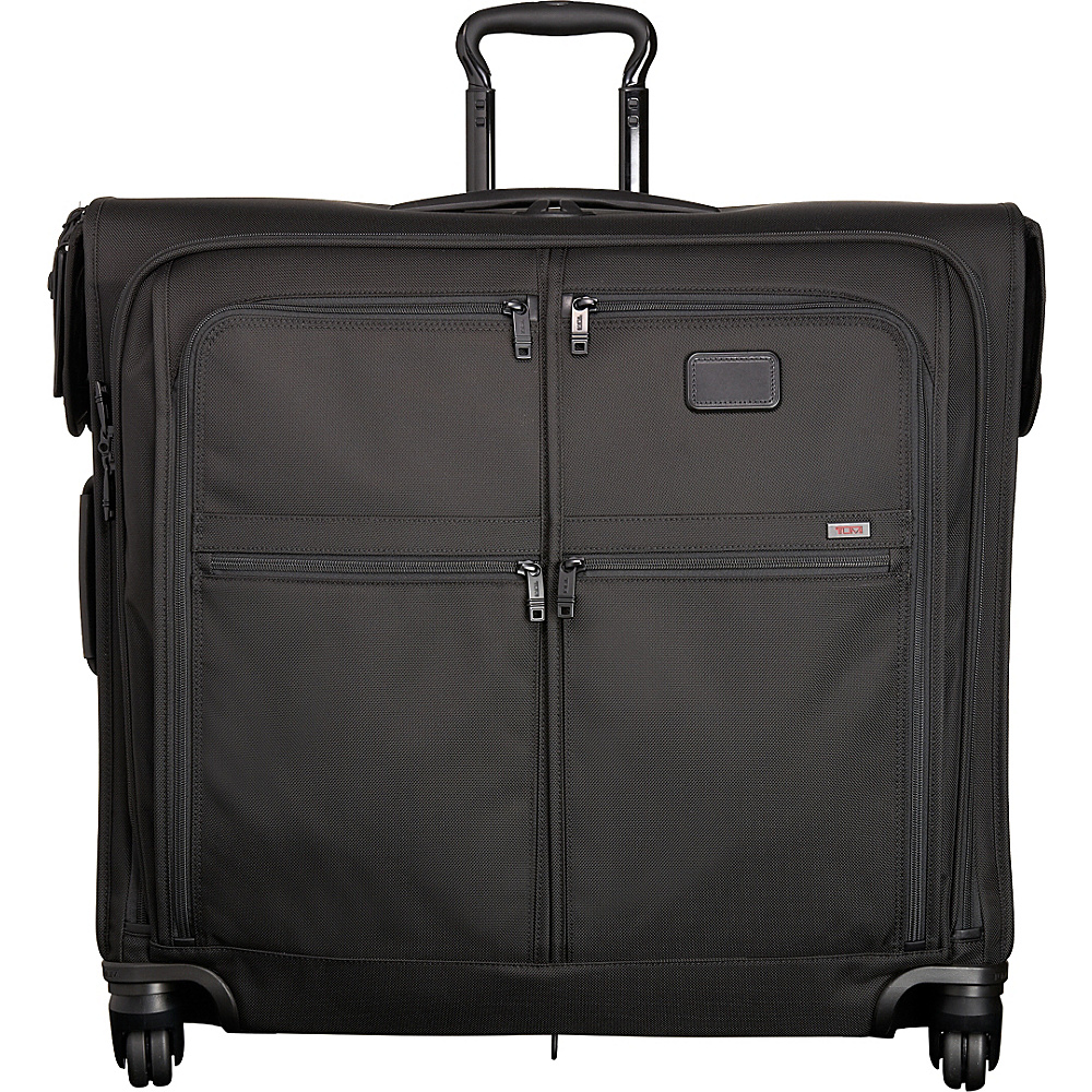 Tumi Alpha 2 4 Wheeled Extended Trip Garment Bag Black D-2 - Tumi Garment Bags - Luggage, Garment Bags