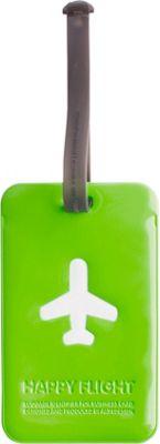 ALIFE DESIGN Alife Design Squared Luggage Tag Green - ALIFE DESIGN Luggage Accessories