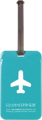 ALIFE DESIGN Alife Design Squared Luggage Tag Blue - ALIFE DESIGN Luggage Accessories