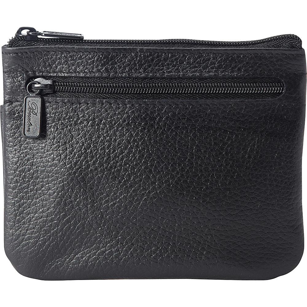 Buxton Hudson Pik-Me-Up Large I.D. Coin/Card Case - Exclusive Colors Black - Buxton Womens Wallets - Women's SLG, Women's Wallets