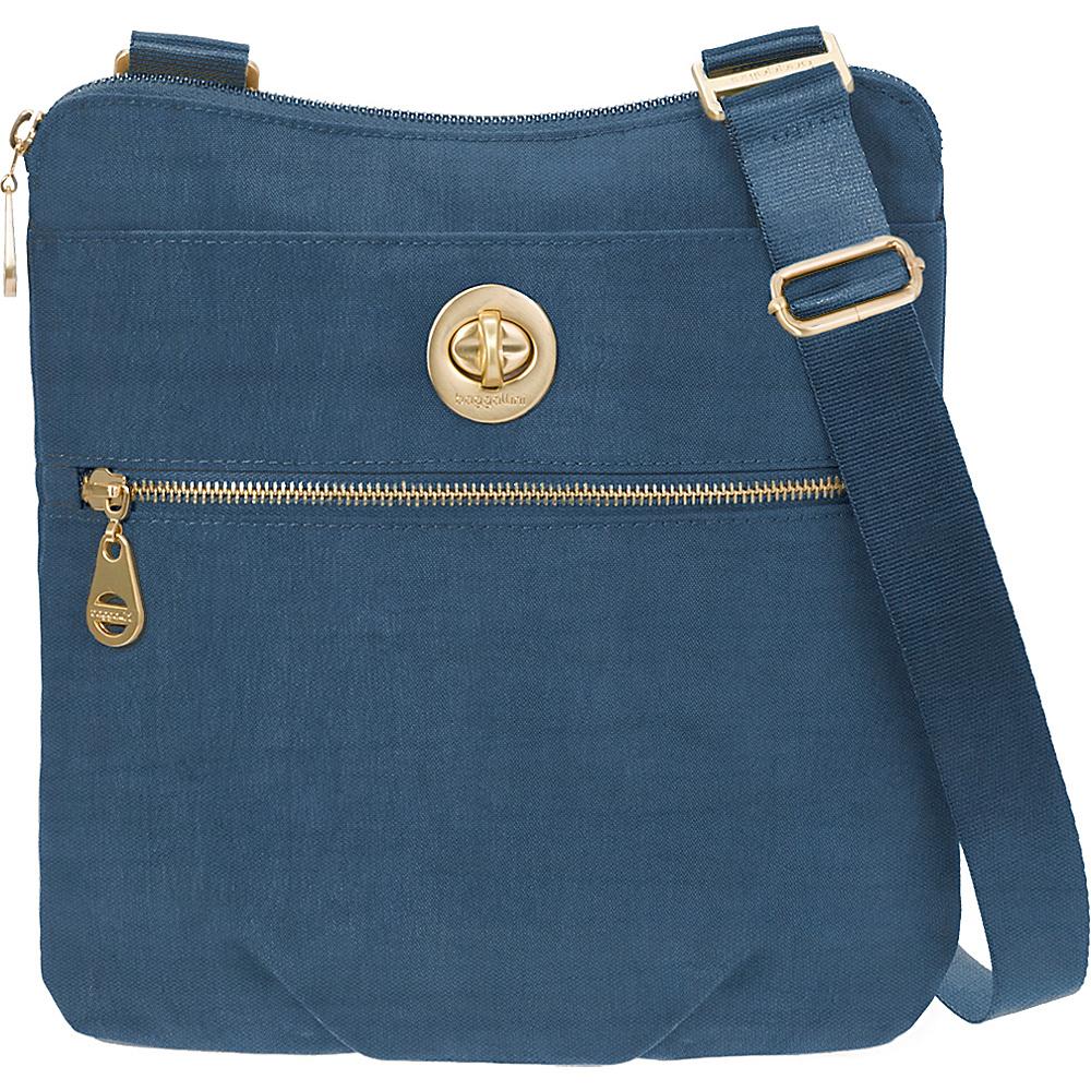 baggallini Gold Hanover Crossbody Slate Blue - baggallini Fabric Handbags - Handbags, Fabric Handbags