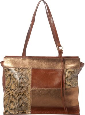 Hobo Valerie Tote Python Patchwork - Hobo Leather Handbags