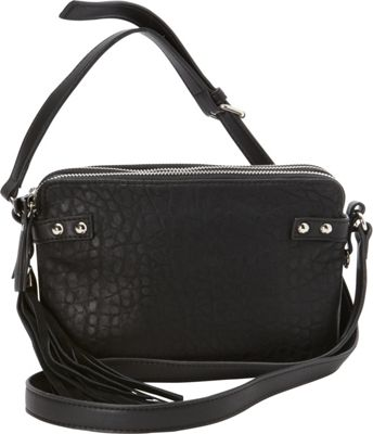 French Connection Camden Crossbody Black/Black - French Connection Manmade Handbags