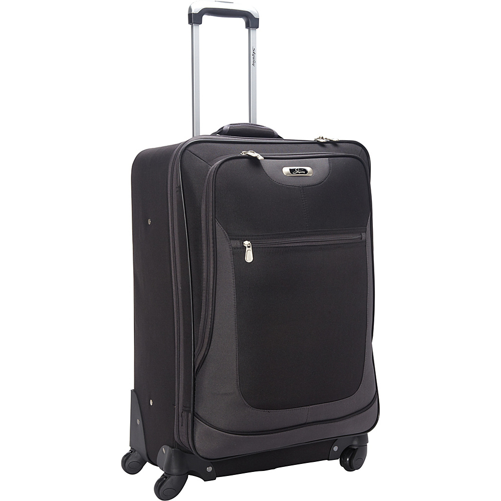 Skyway Epic 20 4 Wheel Expandable Carry on Black Skyway Softside Carry On